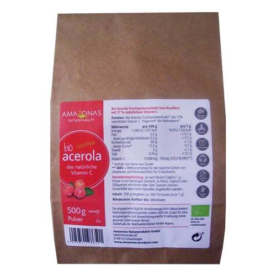 Acerola 100% Bio Pur nat.Vit - 1