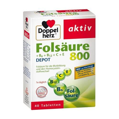 Doppelherz Folsäure 800+B-Vitamine Tabletten - 1