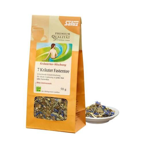 Fasten Tee 7 Kräuter Kräutertee bio Salus - 1