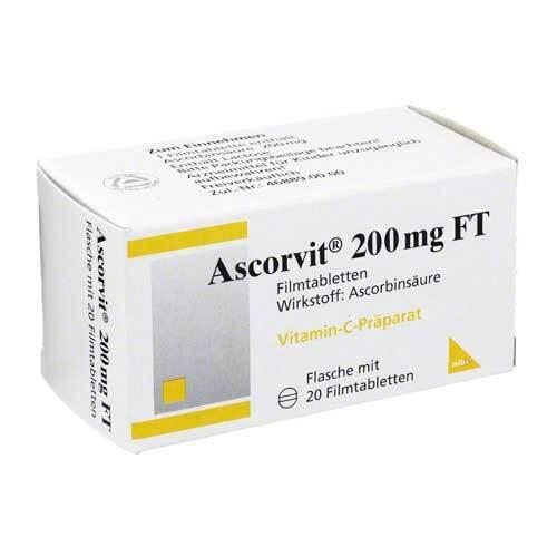 Ascorvit 200 mg FT Filmtabletten - 1