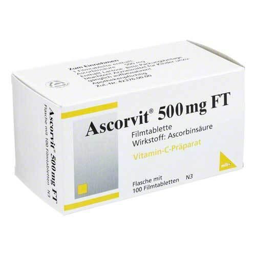 Ascorvit 500 mg FT Filmtabletten - 1