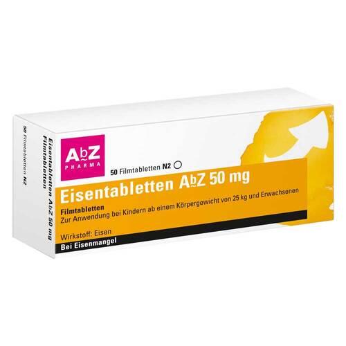 Eisentabletten AbZ 50 mg Filmtabletten - 1