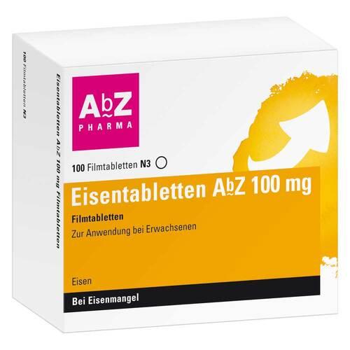 Eisentabletten AbZ 100 mg Filmtabletten - 1