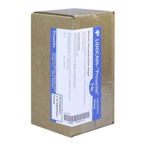 Lidocain Presselin 1% Injektionslösung - 1