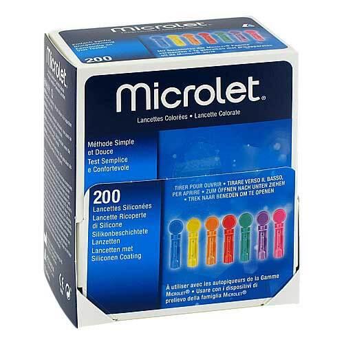 Microlet Lanzetten farbig - 1