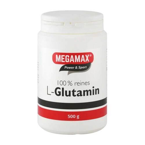 Glutamin 100% rein megamax Pulver - 1