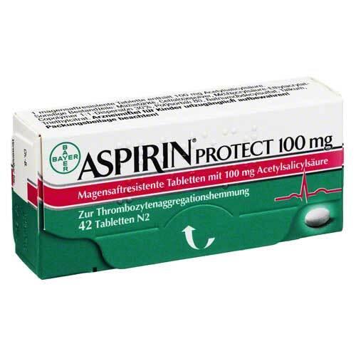 Aspirin Protect 100 mg magensaftresistent Tabletten - 1