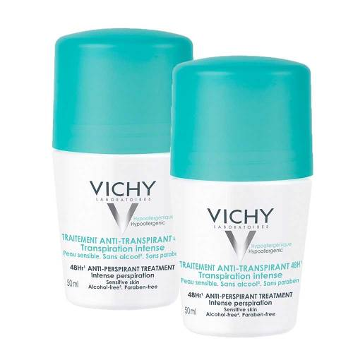 VICHY DEO Roll on Anti Transpirant 48h Doppelpack - 1