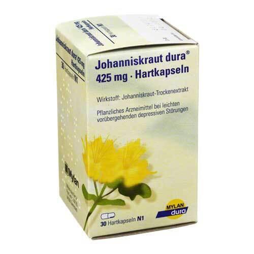 Johanniskraut Dura 425 mg Hartkapseln - 1