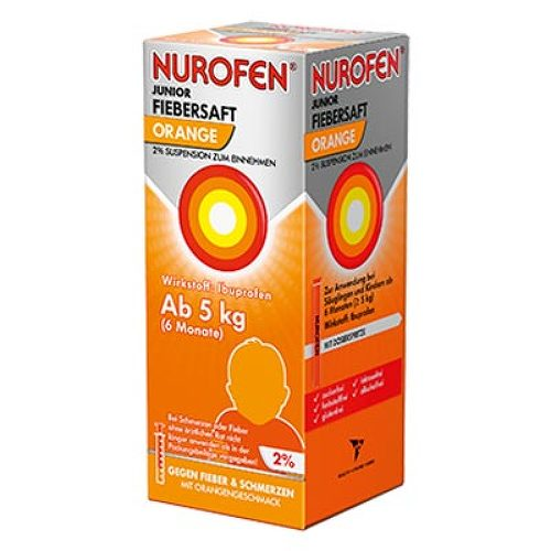 Nurofen Junior Fiebersaft Orange 2% - 1