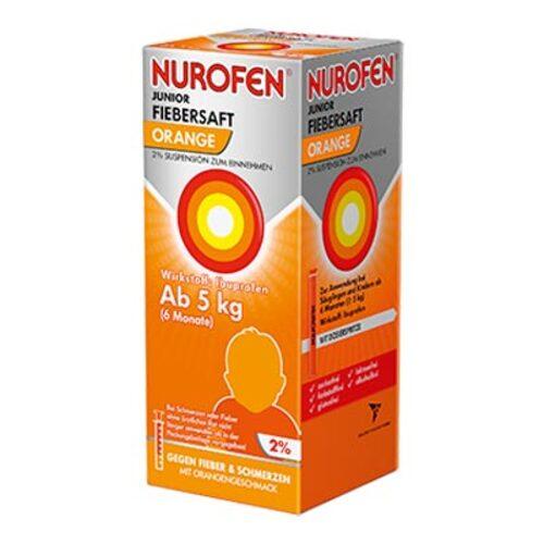 Nurofen Junior Fiebersaft Orange 2% - 1