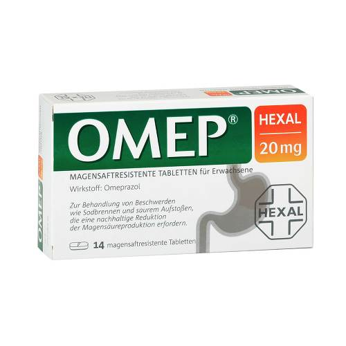 Omep Hexal 20 mg magensaftresistente Tabletten - 1