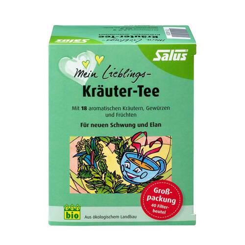 Mein Lieblings-Kräuter-Tee bio Salus Filterbeutel - 1