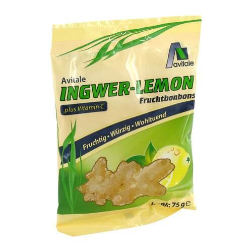 Ingwer Lemon Bonbons + Vitamin C - 1