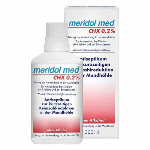 Meridol med CHX 0,2% Spülung - 1