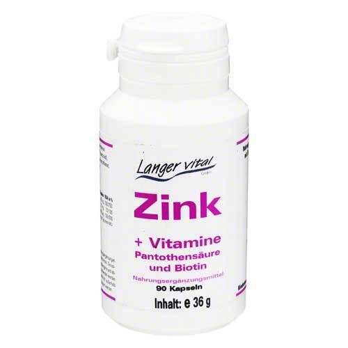 Zink Kapseln + Biotin und Pantothensäure - 1