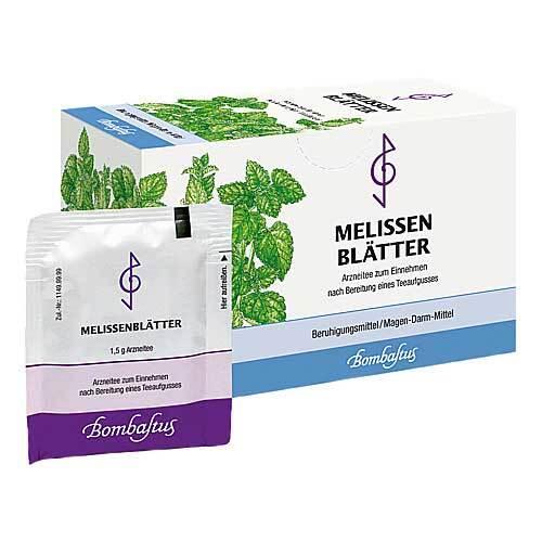 Melissen Blättertee Filterbeutel - 1
