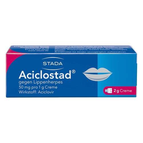 Aciclostad Creme gegen Lippenherpes - 1