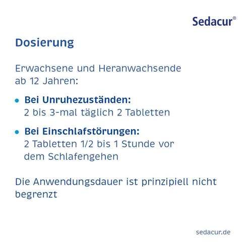 Sedacur forte Beruhigungsdragees - 4