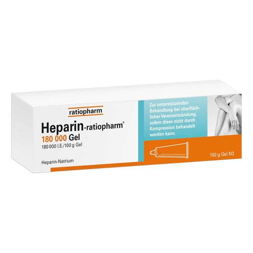 Heparin Ratiopharm 180.000 I.E.Gel - 1