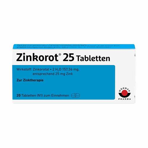 Zinkorot 25 Tabletten - 1