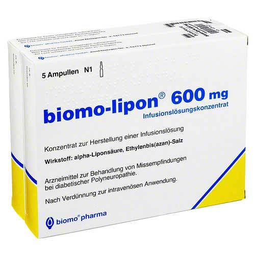 Biomo Lipon 600 mg Ampullen - 1