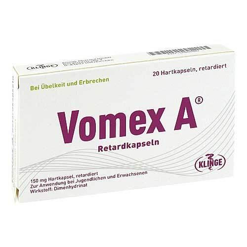Vomex A Retardkapseln N - 1