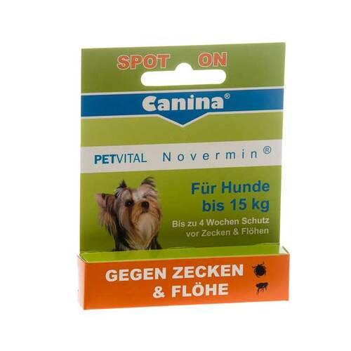 Petvital Novermin flüssig für Hunde bis 15 kg - 1