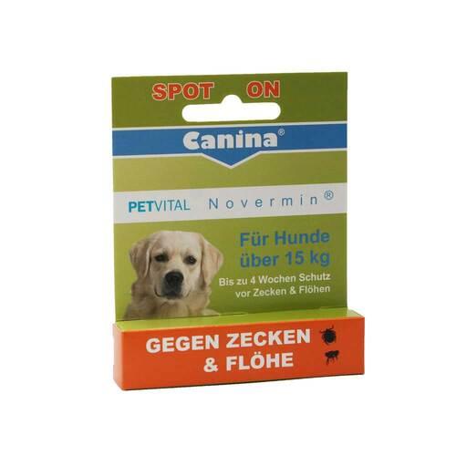 Petvital Novermin flüssig für Hunde über 15 kg - 1