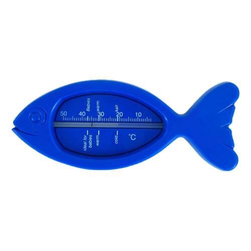 Badethermometer Fisch blau - 1