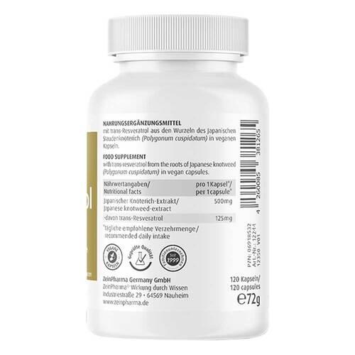 Resveratrol 125 Caps - 3