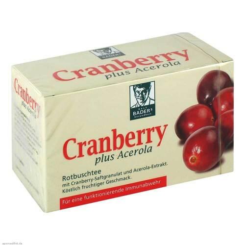 Cranberry Acerola Baders Filterbeutel - 1