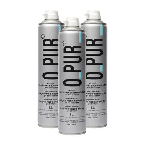 O PUR Sauerstoff Dose für Maske Spray - 1