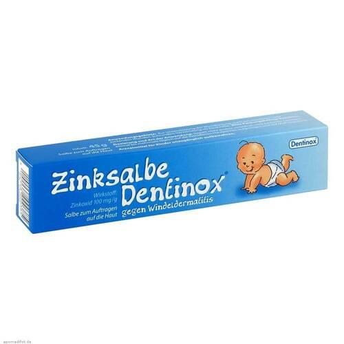 Zinksalbe Dentinox gegen Windeldermatitis - 1
