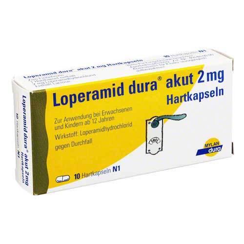 Loperamid dura akut 2 mg Hartkapseln - 1