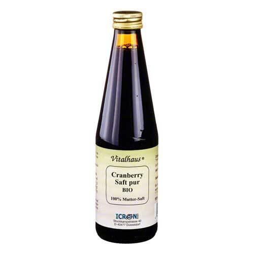 Cranberry Saft pur bio Vital - 1
