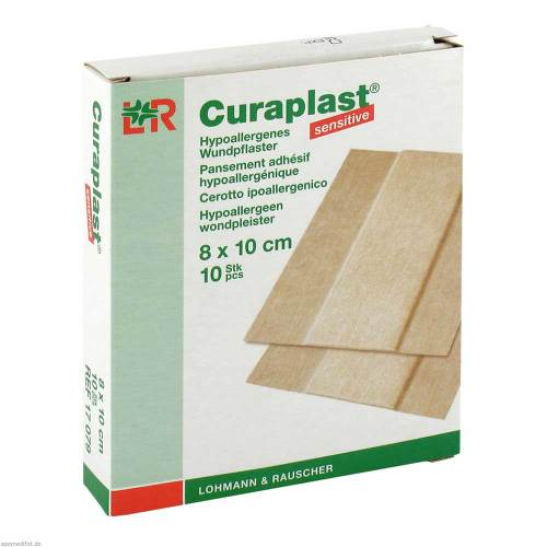 Curaplast sensitive Wundschn.Verband 8x10cm - 1
