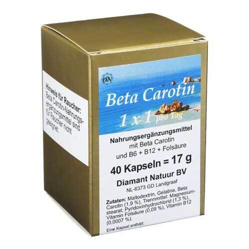 Beta Carotin 1 x 1 Pro Tag Kapseln - 1