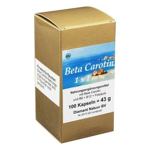 Beta Carotin 1 x 1 Pro Tag K - 1