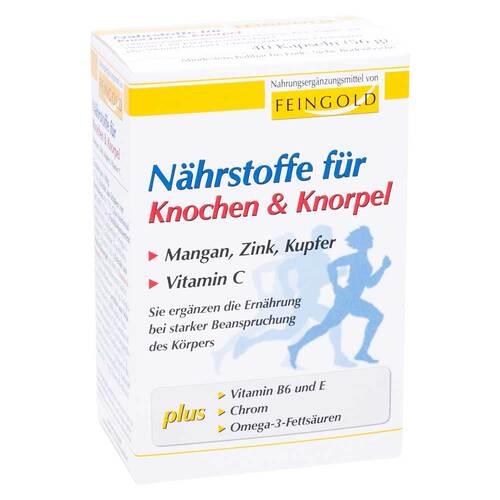 Nährstoffe für Knochen & Knorpel Kapseln - 1