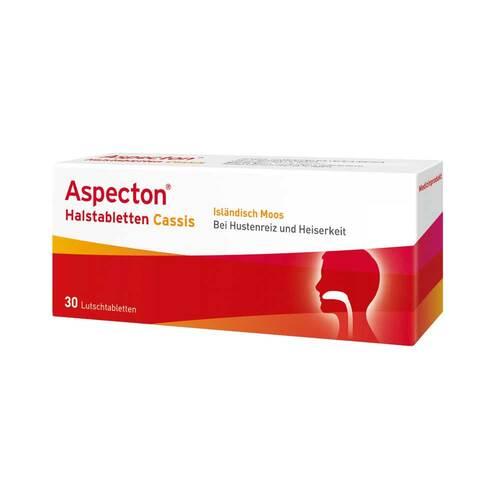 Aspecton Halstabletten Cassis Lutschtabletten - 1