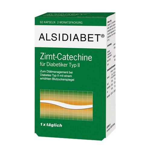 Alsidiabet Zimt Catechine für Diabetiker Typ II - 1