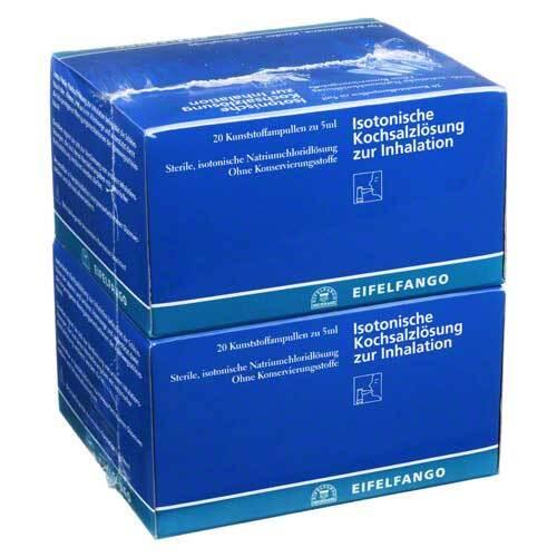 Isotonische Kochsalzlösung zur Inhalation - 1