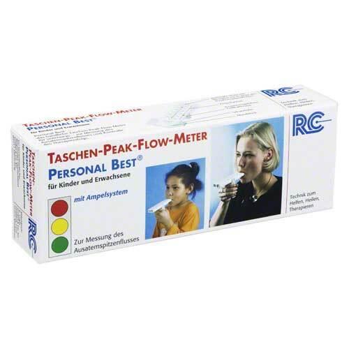 Peak Flow Tasche für Kinder + Erwachsene - 1
