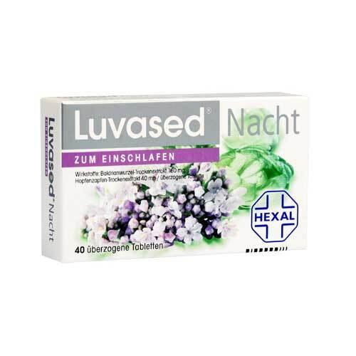 Luvased Nacht zum Einschlafen überzogene Tabletten - 1