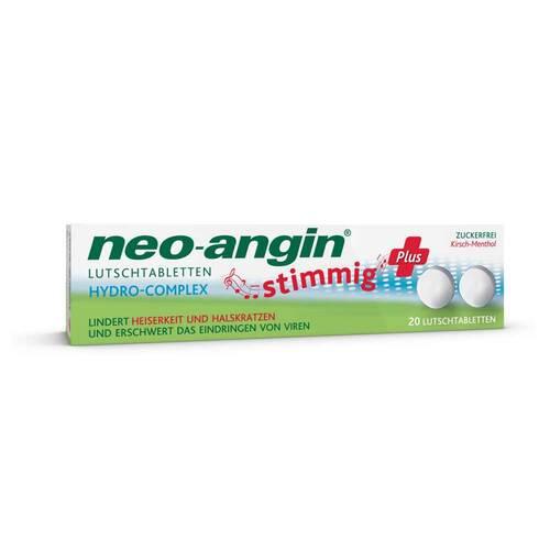Neo Angin stimmig Plus Kirsche Lutschtabletten - 1