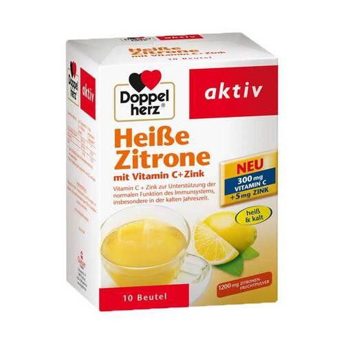 Doppelherz Heiße Zitrone Vitamin C+Zink Granulat - 1