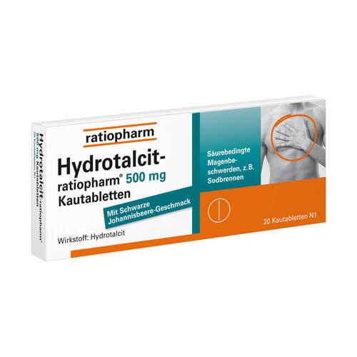 Hydrotalcit ratiopharm 500 mg Kautabletten - 1