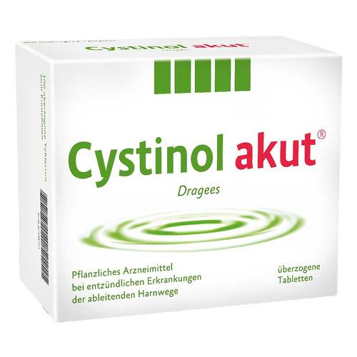 Cystinol akut überzogene Tabletten - 1