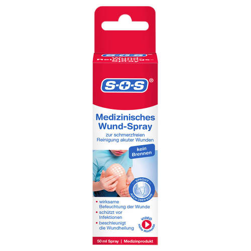 SOS Wund-Reinigungsspray - 1